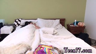 Black teen s fuck Best pals sleeping together