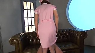 Exotic Japanese whore Yumeka Manatsu in Hottest Foot Job, Nurse JAV clip