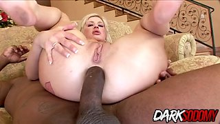 Andi anderson gets anally reamed by bbc