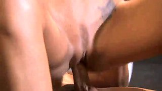 Brunette, whore brooke banner fucks nick manning after workout