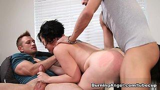Crazy pornstars Bill Bailey, Xander Corvus in Hottest Big Ass, Emo sex video