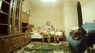 Russian home bi videos