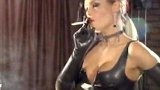 Hottest amateur Smoking, Fetish porn scene