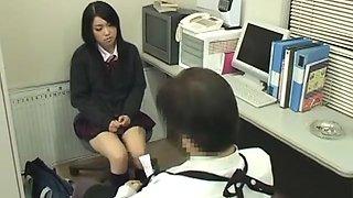 Japanese Schoolgirl Caught Shoplifting