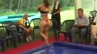 Real Topless Ring Wrestling