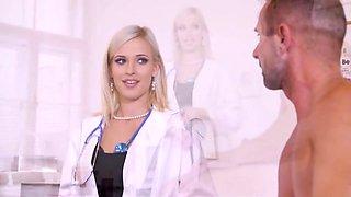 Ria Sunn Ass Spanked Doctor