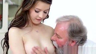 Dirty Old Pervert Gyno Finger Fucking