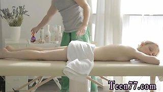 Hot midget blowjob xxx Mirta gets a sensual massage
