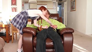 dolly little stepdaddy teaches his stepdaughter