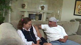 Strapon Tricked Schoolgirl Fuck Amber Simpson