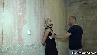 European slave cocksucking her master