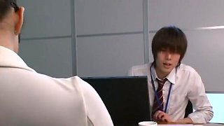 Best Japanese model Hina Akiyoshi in Hottest Footjob, Office JAV video
