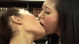 Innocent Office Lesbian Strips