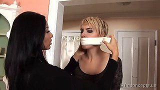 two gagged and taped