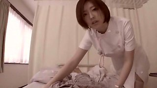 Exotic Japanese chick Ai Haneda in Amazing Nurse, Stockings JAV scene