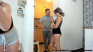 Jerking Step Dad Off With My Mum In The Next Room...