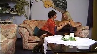 Exotic Homemade movie with Brunette, Blonde scenes