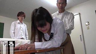 Schoolgirl Gangbang After School
