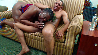 BBW Pioson Ivy gets Ass Fuck