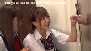 Beautiful teen Saitou Miyu in raunchy blowjob scene
