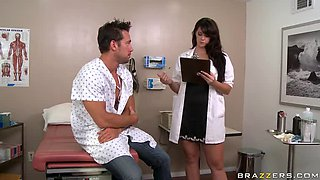 Patient Leaves Doctor With Well Oiled Dick