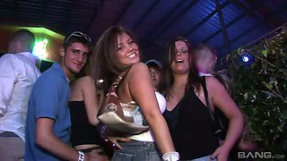 Perverted students go wild at the party