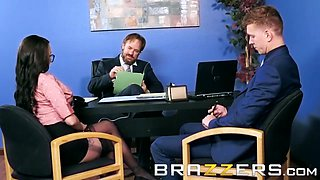 Raven Bay Markus Dupree - Office anal - Brazzers