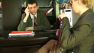 Secretary Takes It In The Ass On The Desk