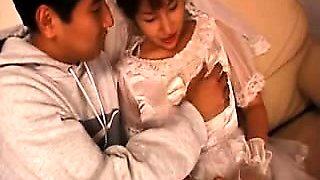 Busty Japanese Bride Reina Minami Fucking by Eliman...
