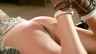 Perfect pretty blonde babe is a master of sensual blowjob