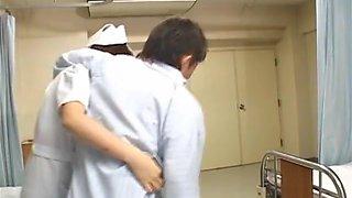 Rio Hamasaki Asian nurse in uniform gets a hard fucking