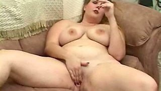 Whorable chubby bitchie wife of my friend is fond of masturbating herself
