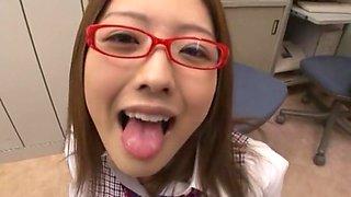 Best Japanese girl Ai Haneda in Crazy Babysitters, Fingering JAV movie