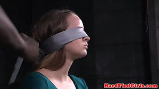 Young sub punished in various bdsm poses