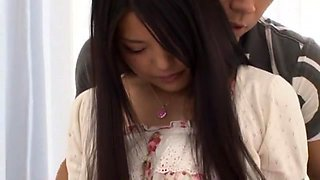 Horny Japanese model Eririka Katagiri in Fabulous Blowjob, Close-up JAV video