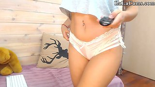 Perfect Tits Natural Schoolgirl Masterbate 01