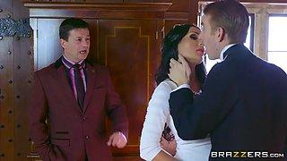 butler brutally fucks rich whore wife patty michova