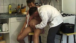 Pregnant fooling around with doctor
