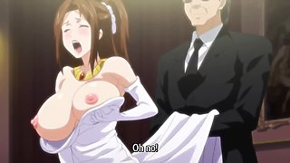 Anime slut gets fucked and receives a facial