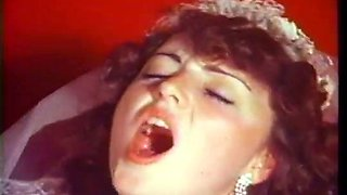Dirty vintage bride gets finally fucked doggy style hard enough