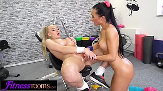 Fitness rooms kayla green anna rose hot workout