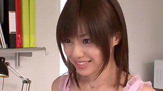 Best Japanese slut Rina Rukawa in Amazing Cunnilingus, Handjobs JAV movie