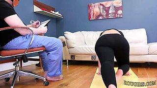 Slut punished and bondage grope cop Ass-Slave Yoga