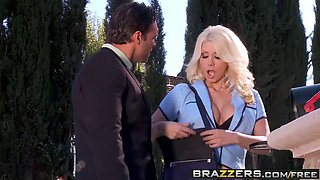 brazzers - big tits in uniform -  package swap scene starrin