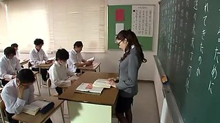 Japanese teacher fucked