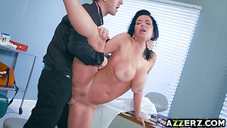 Hot MILF Veronica Avluv bangs with a horny doctor