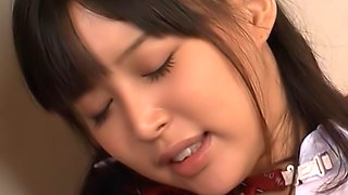 Young babe Tsukasa Aoi is horny and eager to fuck