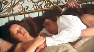 Vintage porn stars Andrea Werdien, Melitta Berger, Hans-Peter Kremser in threesome clip