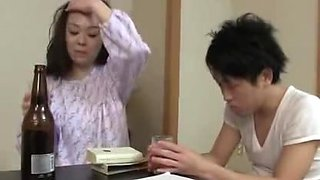Japanese Mom with Son ### And Fuck