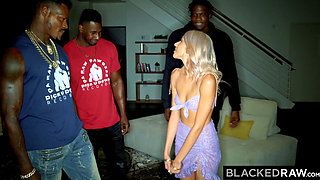 BLACKEDRAW Horny Teen Needs 3 BBCs NOW